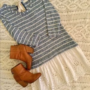 Anthropologie A'reve Pullover Tunic Top